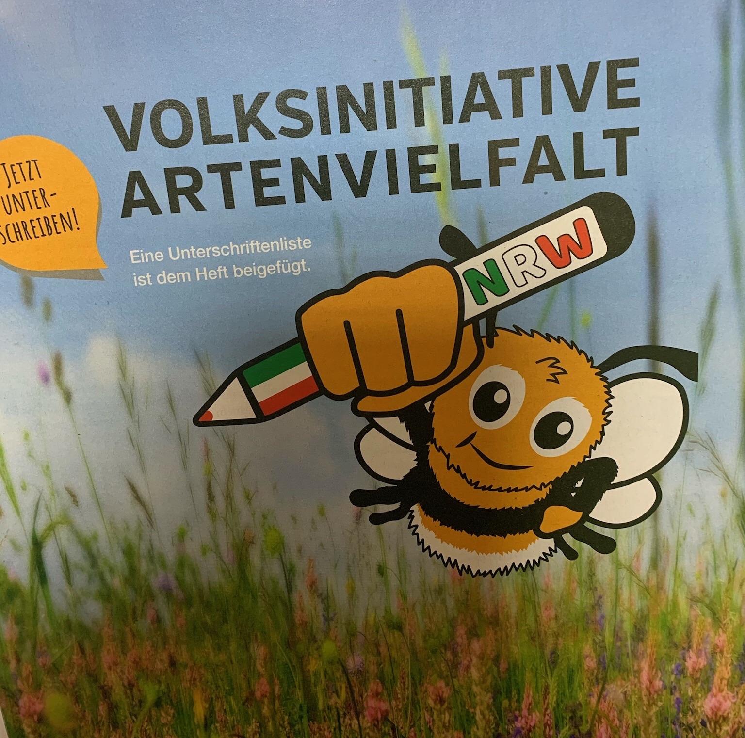 """Volksinitiative """"Artenvielfalt"""" geht in die Schlussrunde  –  BA hofft noch auf viele Nachzügler"""