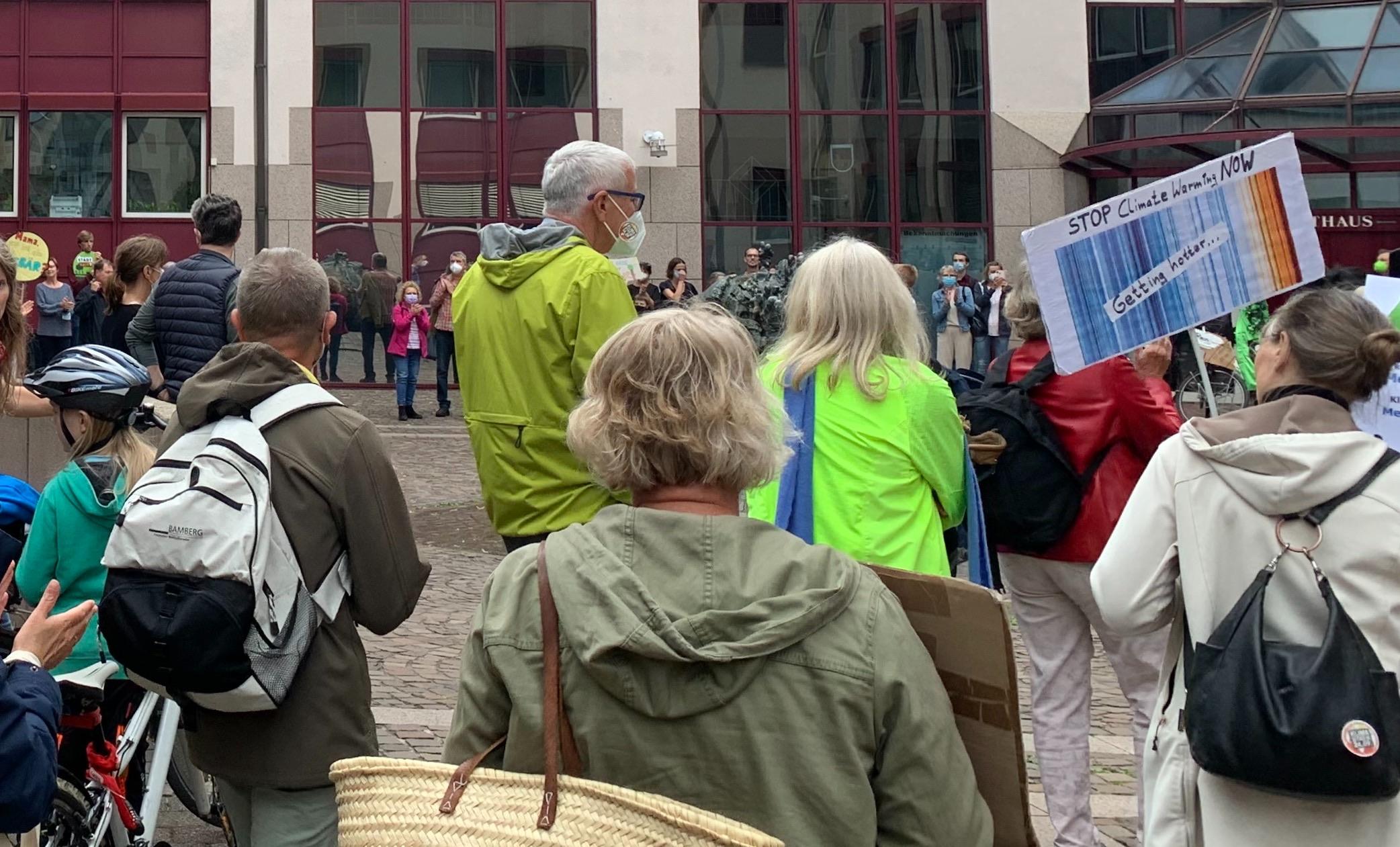 Klimastreik in Hilden – Hunderte gehen aus Protest auf die Straße